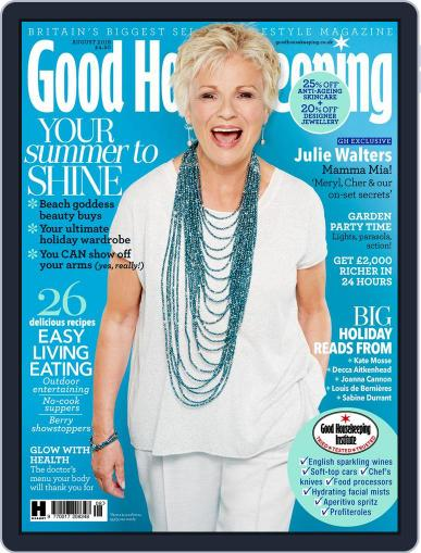 Good Housekeeping UK August 1st, 2018 Digital Back Issue Cover