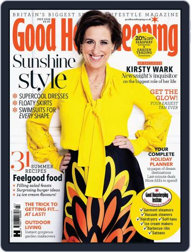 Good Housekeeping UK July 1st, 2018 Digital Back Issue Cover
