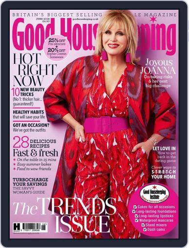 Good Housekeeping UK June 1st, 2018 Digital Back Issue Cover