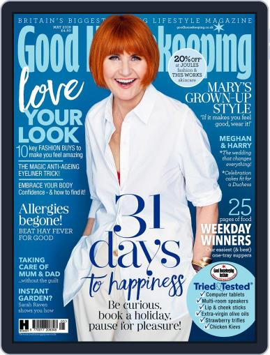 Good Housekeeping UK May 1st, 2018 Digital Back Issue Cover