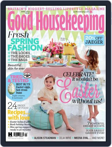 Good Housekeeping UK April 1st, 2018 Digital Back Issue Cover