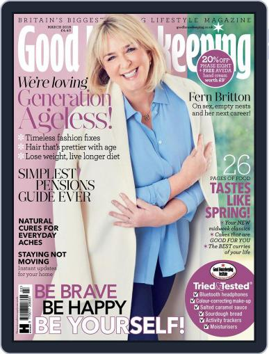 Good Housekeeping UK March 1st, 2018 Digital Back Issue Cover