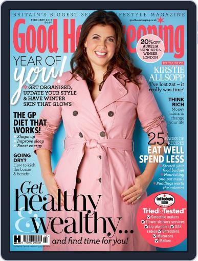 Good Housekeeping UK February 1st, 2018 Digital Back Issue Cover