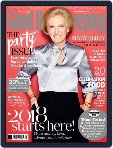 Good Housekeeping UK January 1st, 2018 Digital Back Issue Cover