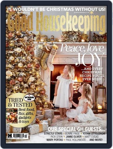 Good Housekeeping UK December 1st, 2017 Digital Back Issue Cover