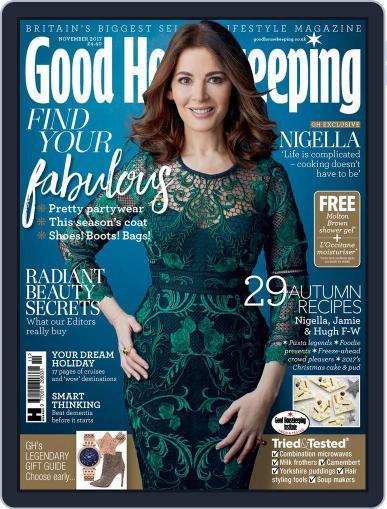 Good Housekeeping UK November 1st, 2017 Digital Back Issue Cover