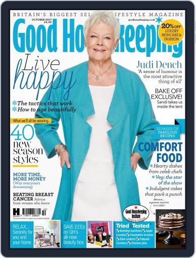 Good Housekeeping UK October 1st, 2017 Digital Back Issue Cover