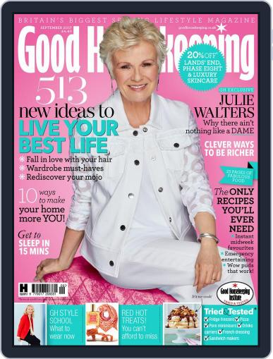 Good Housekeeping UK September 1st, 2017 Digital Back Issue Cover