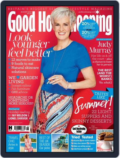 Good Housekeeping UK August 1st, 2017 Digital Back Issue Cover