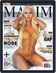 Maxim Australia (Digital) Subscription October 1st, 2019 Issue
