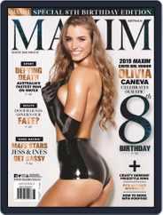 Maxim Australia (Digital) Subscription August 1st, 2019 Issue