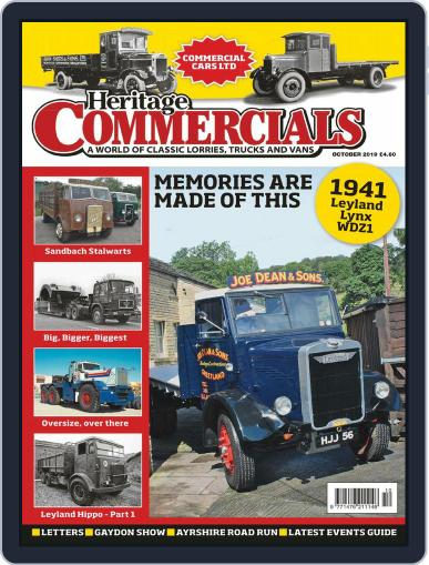 Heritage Commercials (Digital) October 1st, 2019 Issue Cover