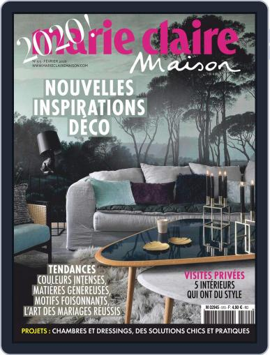 Marie Claire Maison (Digital) February 1st, 2020 Issue Cover