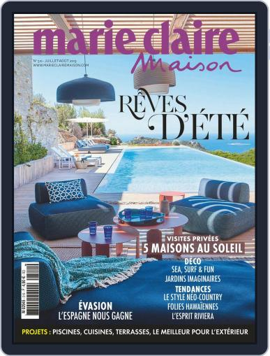 Marie Claire Maison (Digital) July 1st, 2019 Issue Cover