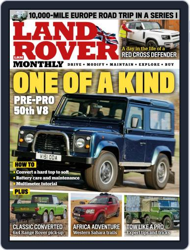 Land Rover Monthly July 1st, 2020 Digital Back Issue Cover