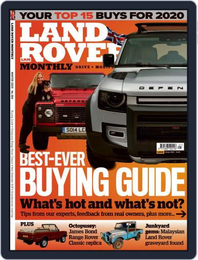 Land Rover Monthly January 2nd, 2020 Digital Back Issue Cover