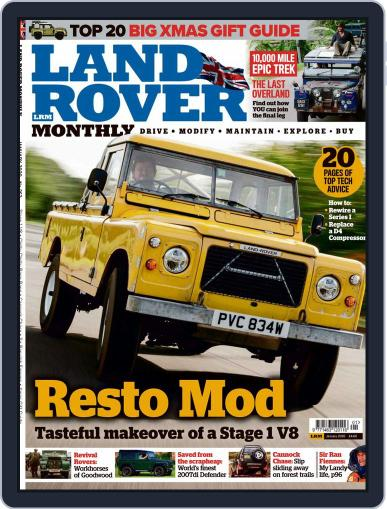 Land Rover Monthly January 1st, 2020 Digital Back Issue Cover