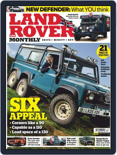Land Rover Monthly December 1st, 2019 Digital Back Issue Cover