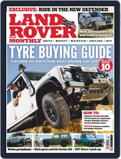 Land Rover Monthly October 1st, 2019 Digital Back Issue Cover