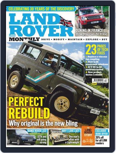 Land Rover Monthly September 1st, 2019 Digital Back Issue Cover