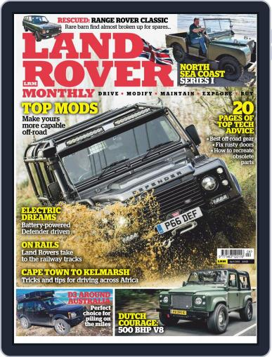Land Rover Monthly April 1st, 2019 Digital Back Issue Cover