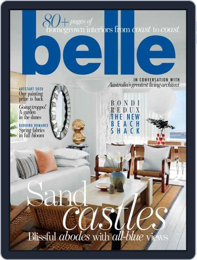 Belle November 1st, 2019 Digital Back Issue Cover
