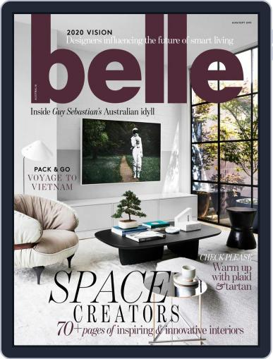 Belle August 1st, 2019 Digital Back Issue Cover