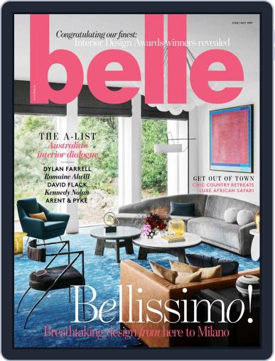 Belle June 1st, 2019 Digital Back Issue Cover