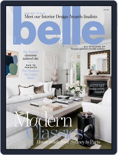 Belle May 1st, 2019 Digital Back Issue Cover