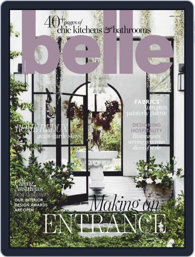 Belle April 1st, 2019 Digital Back Issue Cover