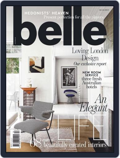 Belle December 1st, 2018 Digital Back Issue Cover