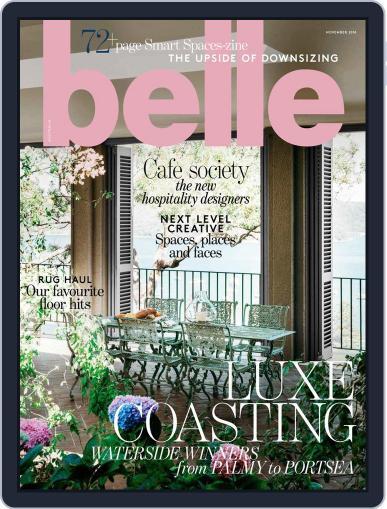 Belle November 1st, 2018 Digital Back Issue Cover