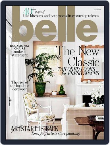 Belle October 1st, 2018 Digital Back Issue Cover