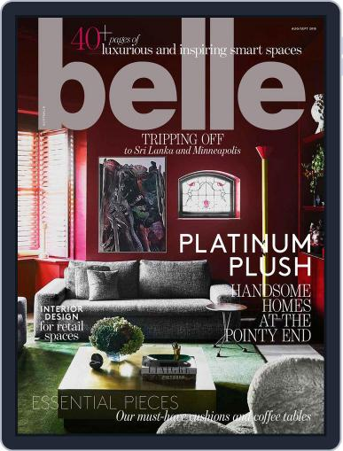 Belle August 1st, 2018 Digital Back Issue Cover