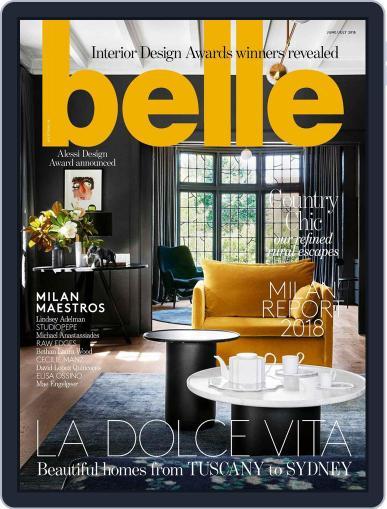 Belle June 1st, 2018 Digital Back Issue Cover