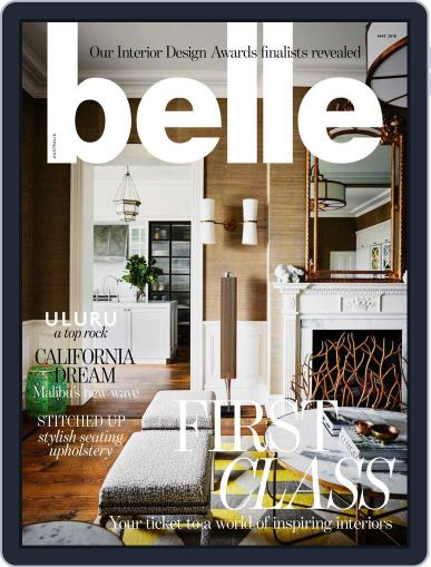 Belle May 1st, 2018 Digital Back Issue Cover