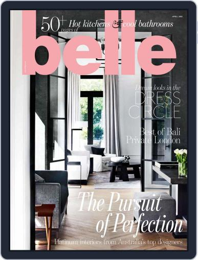 Belle April 1st, 2018 Digital Back Issue Cover