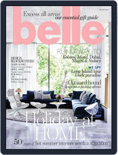 Belle December 1st, 2017 Digital Back Issue Cover