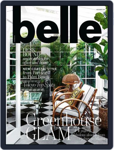 Belle November 1st, 2017 Digital Back Issue Cover