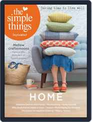 The Simple Things (Digital) Subscription September 1st, 2017 Issue