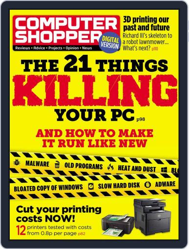 Computer Shopper (Digital) May 12th, 2016 Issue Cover