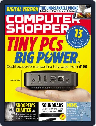Computer Shopper (Digital) March 1st, 2016 Issue Cover