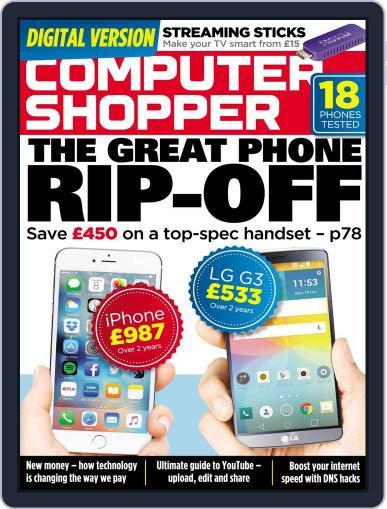 Computer Shopper (Digital) November 12th, 2015 Issue Cover