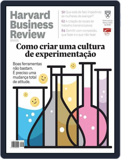 Harvard Business Review Brasil (Digital) March 1st, 2020 Issue Cover