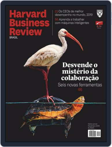 Harvard Business Review Brasil (Digital) November 1st, 2019 Issue Cover