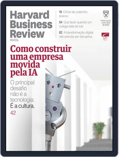 Harvard Business Review Brasil (Digital) July 1st, 2019 Issue Cover
