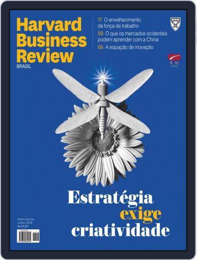 Harvard Business Review Brasil (Digital) June 1st, 2019 Issue Cover