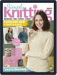 Simply Knitting (Digital) Subscription March 1st, 2020 Issue