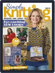 Simply Knitting (Digital) Subscription December 1st, 2019 Issue