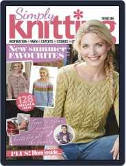 Simply Knitting (Digital) Subscription July 1st, 2019 Issue